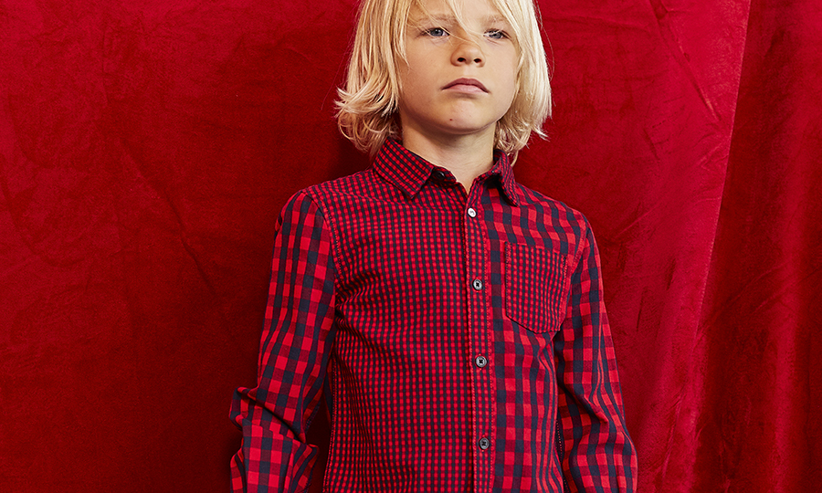 Boys' red shirt  - IKKS Junior