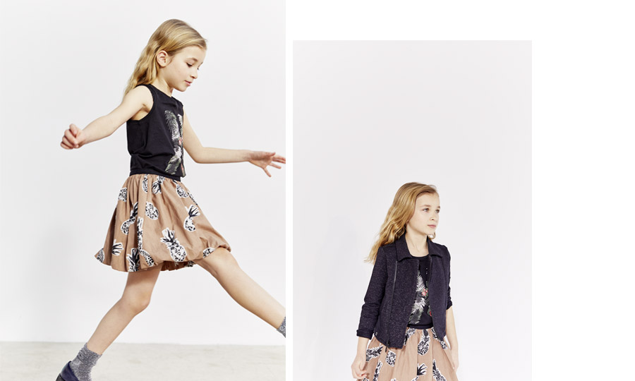 Girls' printed skirt - IKKS Junior