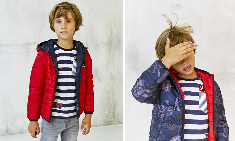 Boys' padded jacket  - IKKS Junior